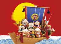 七福神 22451021602| 写真素材・ストックフォト・画像・イラスト素材|アマナイメージズ