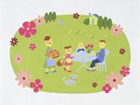家族・イラスト 22451023497| 写真素材・ストックフォト・画像・イラスト素材|アマナイメージズ