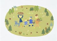家族・イラスト 22451023501| 写真素材・ストックフォト・画像・イラスト素材|アマナイメージズ