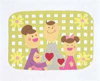 家族・イラスト 22451023505| 写真素材・ストックフォト・画像・イラスト素材|アマナイメージズ