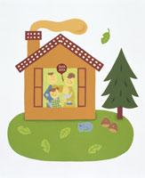 家族・イラスト 22451023507| 写真素材・ストックフォト・画像・イラスト素材|アマナイメージズ