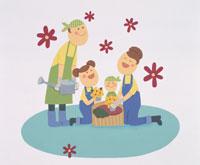 家族・イラスト 22451023511| 写真素材・ストックフォト・画像・イラスト素材|アマナイメージズ