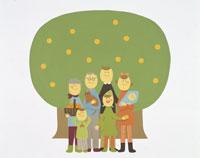 秋イメージ・イラスト 22451023572| 写真素材・ストックフォト・画像・イラスト素材|アマナイメージズ