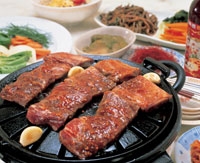 韓国風焼肉