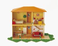 家の模型 22451025829| 写真素材・ストックフォト・画像・イラスト素材|アマナイメージズ