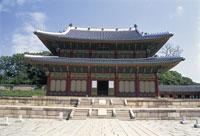 昌徳宮の仁政殿 22451027885| 写真素材・ストックフォト・画像・イラスト素材|アマナイメージズ