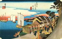 東海道五十三次 川崎 22451030518| 写真素材・ストックフォト・画像・イラスト素材|アマナイメージズ