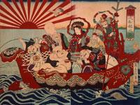 七福神船遊之図