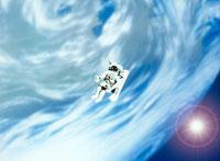 宇宙飛行士のイメージ