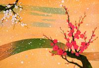 梅の花 イラスト 22451031301| 写真素材・ストックフォト・画像・イラスト素材|アマナイメージズ