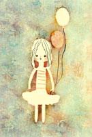 女の子 イラスト