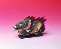 三春張り子の竜