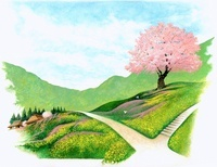 日本の田舎の春 22451032580  写真素材・ストックフォト・画像・イラスト素材 アマナイメージズ