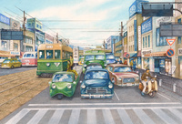 懐かしい昭和の街並み