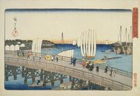 東都名所 永代橋深川新地 22451034165| 写真素材・ストックフォト・画像・イラスト素材|アマナイメージズ