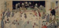 伊勢ノ海稽古場繁栄之図 22451034187| 写真素材・ストックフォト・画像・イラスト素材|アマナイメージズ