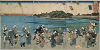 隅田川 凧あげ 22451034205| 写真素材・ストックフォト・画像・イラスト素材|アマナイメージズ