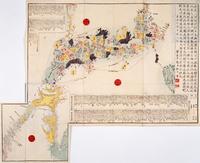 日本の古地図