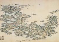 日本の古地図 22451034343| 写真素材・ストックフォト・画像・イラスト素材|アマナイメージズ