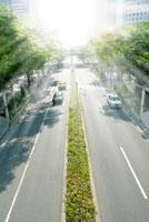 都市を通る道路