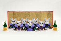 金屏風と7匹の鼠 クラフト
