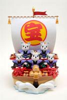 5匹の鼠の宝船 クラフト