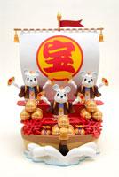3匹の鼠の宝船 クラフト