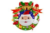 サンタのクリスマスリース
