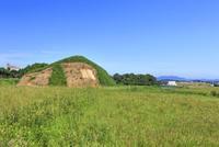 新原,奴山古墳群 22502007701| 写真素材・ストックフォト・画像・イラスト素材|アマナイメージズ