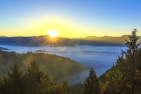 雲海 22502010503| 写真素材・ストックフォト・画像・イラスト素材|アマナイメージズ
