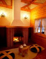 暖炉 22503000058| 写真素材・ストックフォト・画像・イラスト素材|アマナイメージズ