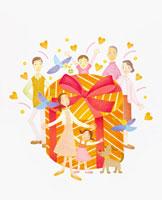 家族イメージ イラスト 22571000032| 写真素材・ストックフォト・画像・イラスト素材|アマナイメージズ