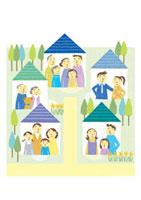 家族とご近所繋がり