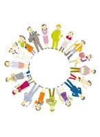 いろいろな職業の人で作る輪