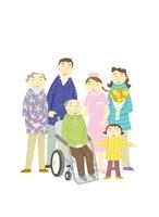 家族 22571000097| 写真素材・ストックフォト・画像・イラスト素材|アマナイメージズ