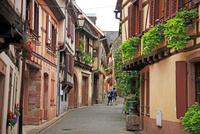 ワイン街道沿いのリボヴィレ