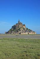 フランス モン・サン・ミシェルとその湾  22585002286| 写真素材・ストックフォト・画像・イラスト素材|アマナイメージズ