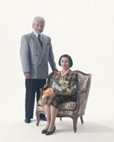 老夫婦 22600000415| 写真素材・ストックフォト・画像・イラスト素材|アマナイメージズ