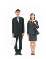 ビジネスマンとビジネスウーマン 22600000953| 写真素材・ストックフォト・画像・イラスト素材|アマナイメージズ