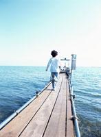 子供 琵琶湖