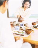 朝食 22600004508| 写真素材・ストックフォト・画像・イラスト素材|アマナイメージズ