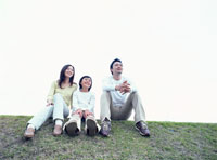 家族 22600004638  写真素材・ストックフォト・画像・イラスト素材 アマナイメージズ