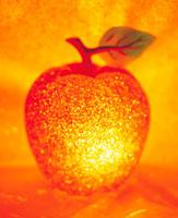 クリスマスイメージ リンゴ