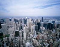 エンパイヤステートビルより望むニューヨーク市街