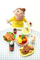 大食いのメタボな女性