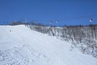 ゴンドラとスキー場