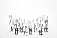 紙の人々 22748001095| 写真素材・ストックフォト・画像・イラスト素材|アマナイメージズ