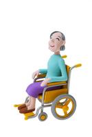 車椅子の女性 22748001130| 写真素材・ストックフォト・画像・イラスト素材|アマナイメージズ