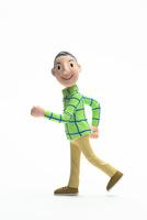 元気,歩く,男性 22748001157| 写真素材・ストックフォト・画像・イラスト素材|アマナイメージズ