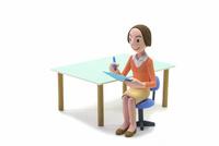 女性,カウンセラー 22748001172| 写真素材・ストックフォト・画像・イラスト素材|アマナイメージズ